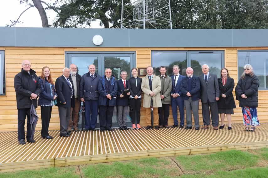 opening of Aldershot athletics pavilion May 2016
